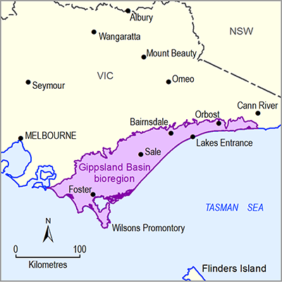 Thumbnail of the Gippsland bioregion