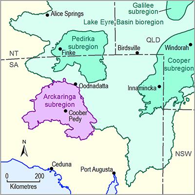 Thumbnail of the Arckaringa subregion