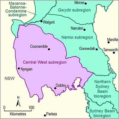 Thumbnail of the Central West subregion