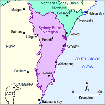 Thumbnail of the Sydney Basin bioregion